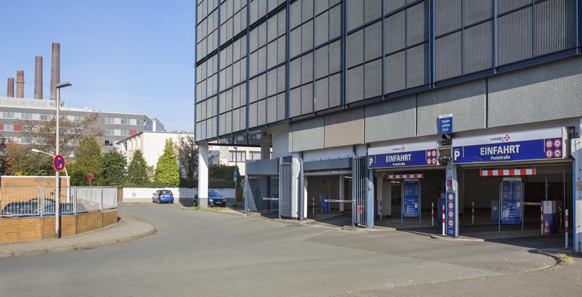 Parkhaus PoststraГџe Wolfsburg